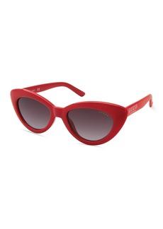 GUESS 51mm Cat Eye Sunglasses