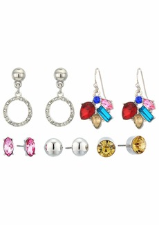 GUESS 6 on Multicolored Stud Set Earrings