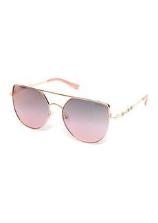 GUESS 61mm Cat Eye Sunglasses