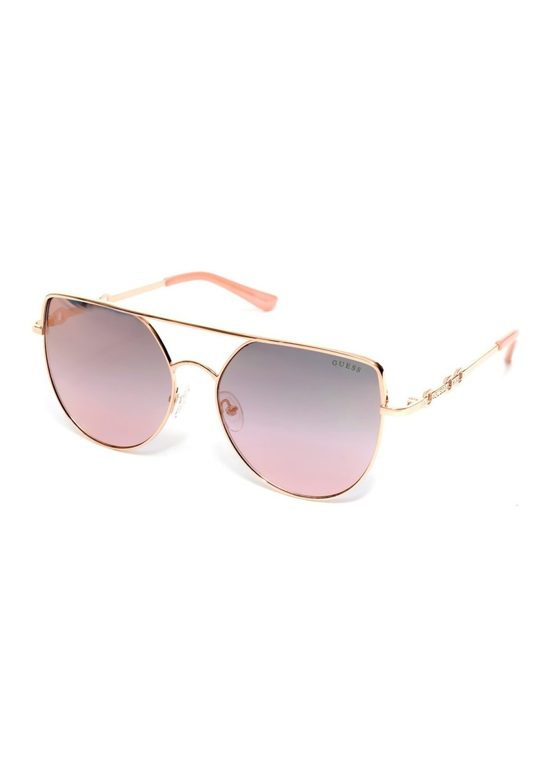 61mm Cat Eye Sunglasses