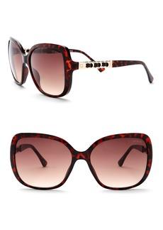 GUESS 61mm Oversized Sunglasses