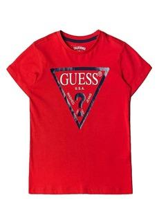 GUESS Big Boys Short Sleeve Classic Logo T-shirt