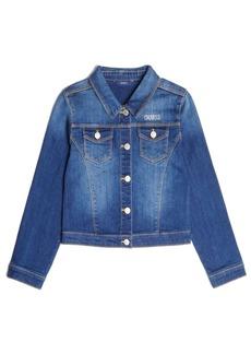 GUESS Big Girls Classic Stretch Denim Jacket