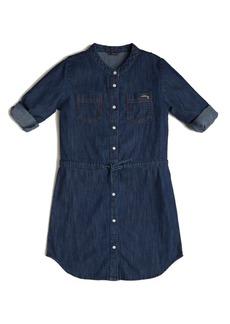 GUESS Big Girls Convertible Denim Shirt Dress