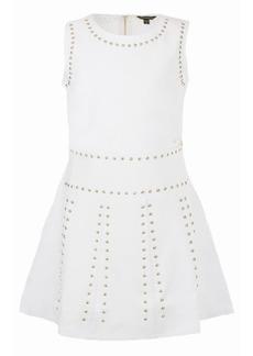 GUESS Big Girls Knit Ponte Studded Sleeveless Dress