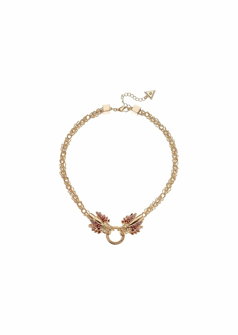GUESS Dragon Front Necklace