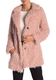 GUESS Faux Fur Jacket