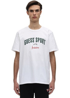 GUESS Fontaine Cotton Jersey T-shirt