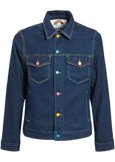 GUESS Fwy Capsule Logo Denim Jacket