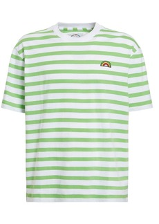 GUESS Fwy Capsule Striped Cotton T-shirt