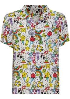GUESS Fwy Capsule Viscose Multi Logo Shirt