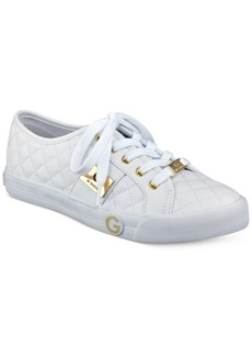 G by Guess Byrone Quilted Lace-Up Sneakers Women's Shoes