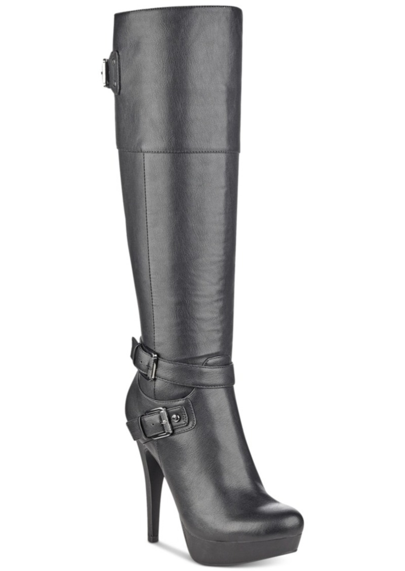 G By Guess Decco Platform Boots Women's