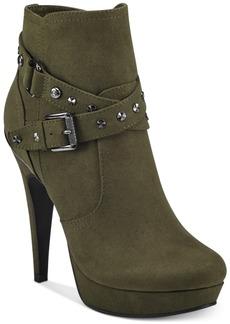 G by Guess Deeka Platform Dress Booties Women's Shoes