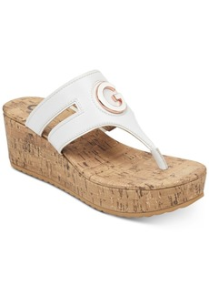 G by Guess Gandy Wedge Sandals Women's Shoes