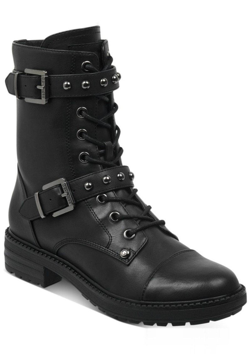 G by Guess Granted Combat Booties Women's Shoes