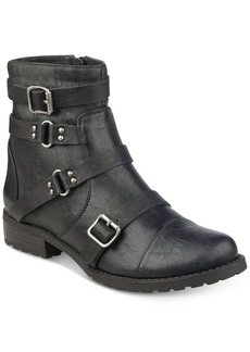 G by Guess Handsom Moto Booties Women's Shoes