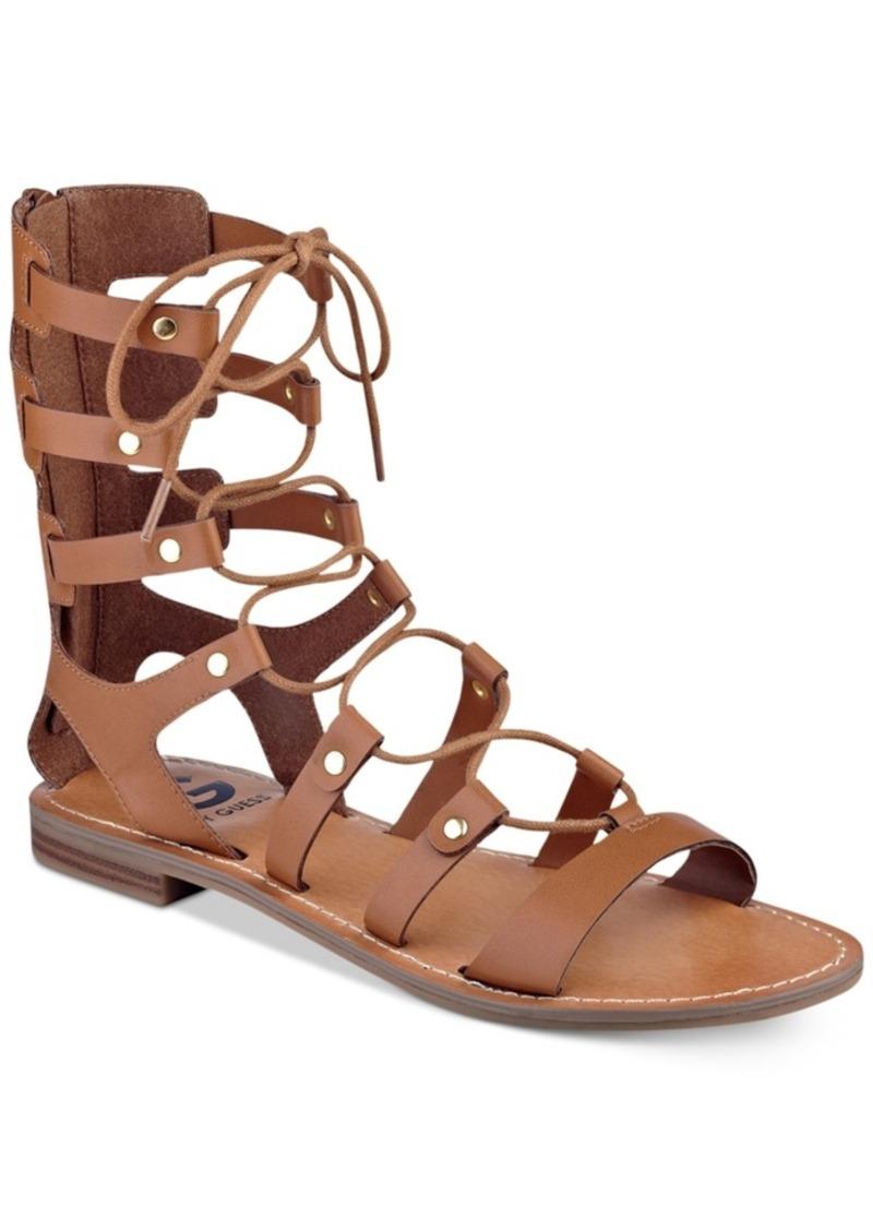 e2da6980c15e GUESS G by Guess Hopey Gladiator Sandals Women s Shoes