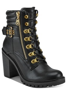 G by Guess Jaylee Combat Booties Women's Shoes