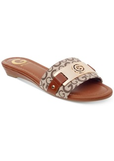 G by Guess Jeena Slide Flat Sandals Women's Shoes