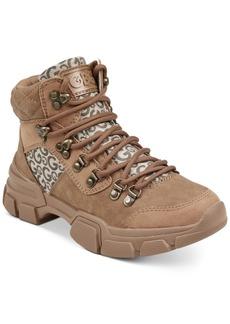 G by Guess Kix Hiker Boots Women's Shoes