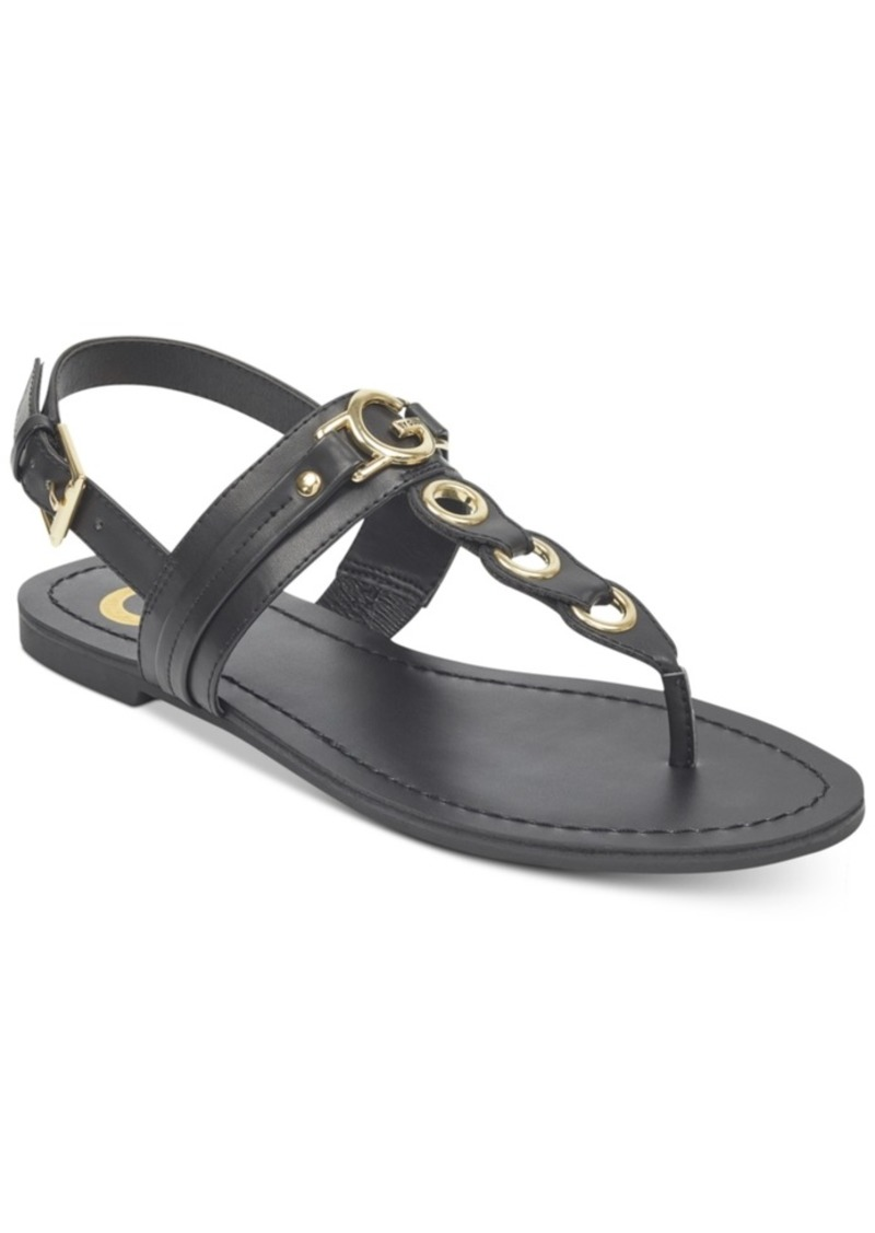 639d36d89e25 GUESS G by Guess Lesha Flat Sandals Women s Shoes