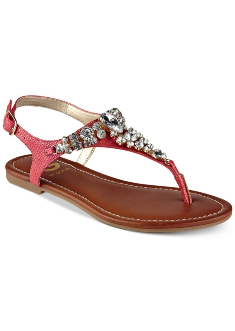 G By Shoes Embellished Londeen Flat Sandals Women's xtshQCrdB