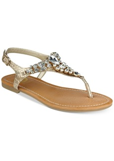 G by Guess Londeen Embellished Flat Sandals Women's Shoes