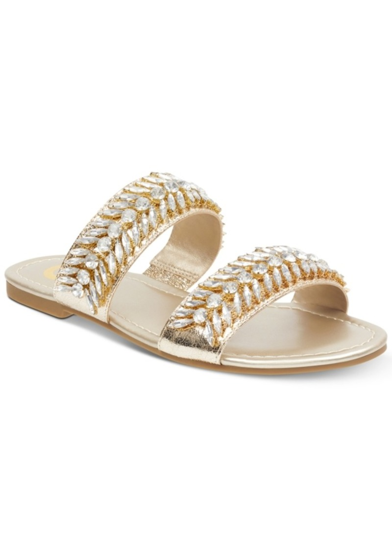 2abf649c6975 GUESS G by Guess Luxeen Flat Sandals Women s Shoes