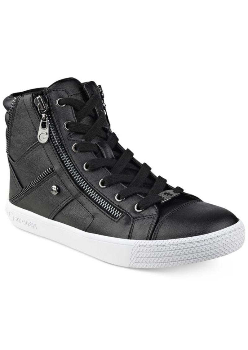 Sneakers By Guess G Top Women's Shoes Maker High KFJ31Tlc