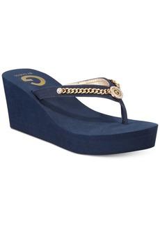 G by Guess Statuz Platform Sandals Women's Shoes