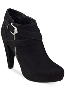 G by Guess Taylin Platform Dress Booties Women's Shoes
