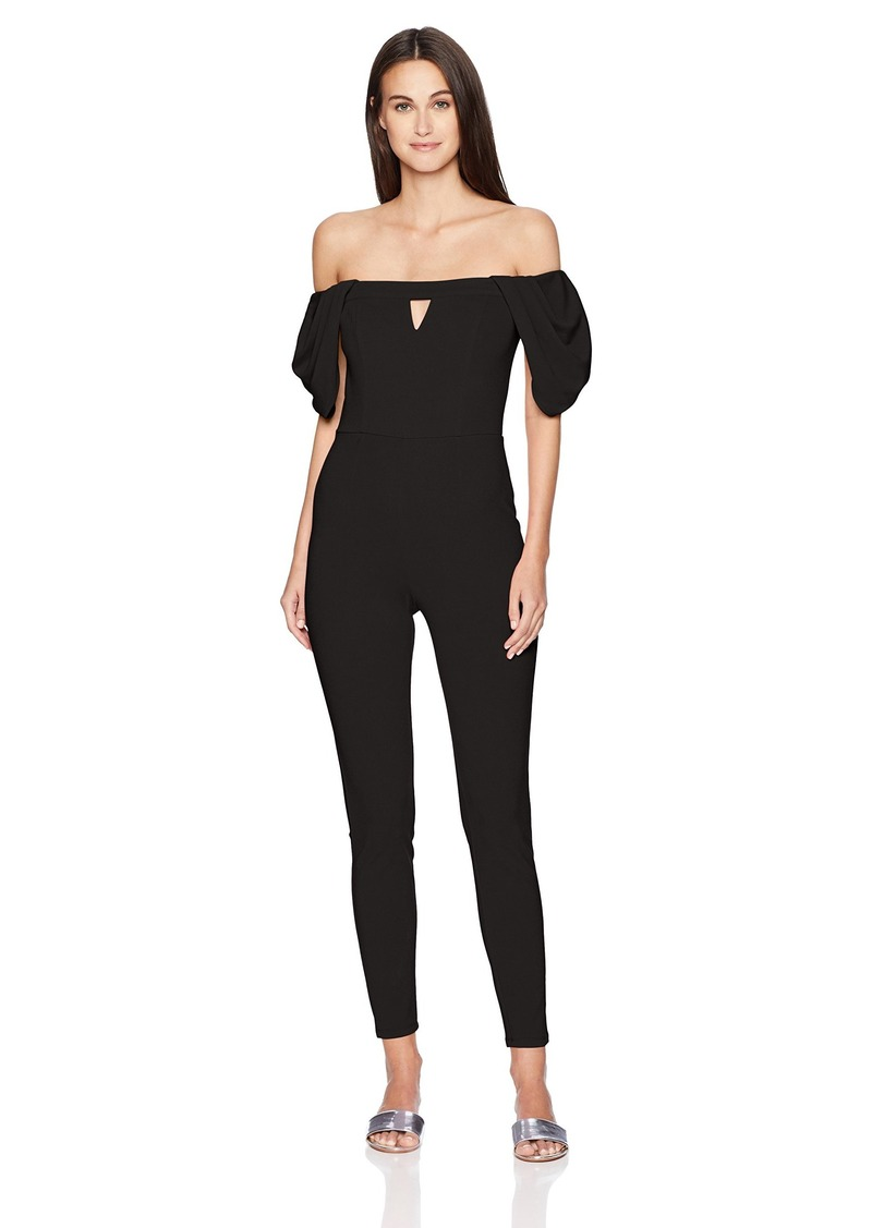 GUESS GUE Women's Cold houlder Jenner Jumpsuit