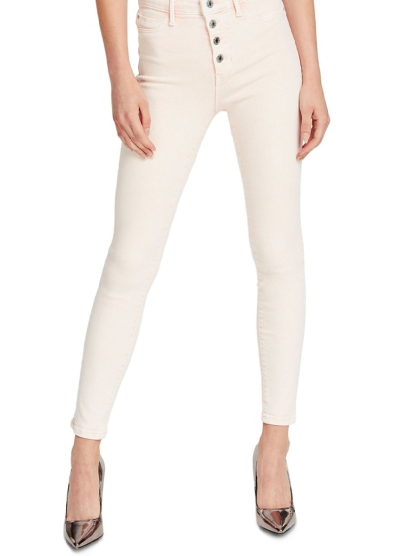 Guess 1981 Exposed Button-Fly Skinny Jeans