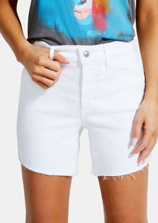 Guess 1981 Frayed Denim Shorts