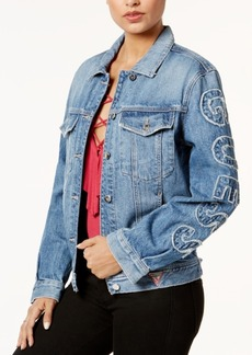 Guess 90s Icon Cotton Denim Jacket
