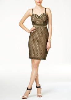 Guess Acacia Fishnet-Detail Dress