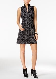 Guess Adalia Printed Fit & Flare Dress