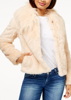 Guess Agata Faux-Fur Coat