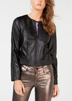 Guess Aiken Faux-Leather Moto Jacket
