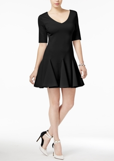 Guess Aislynn Fit & Flare Dress