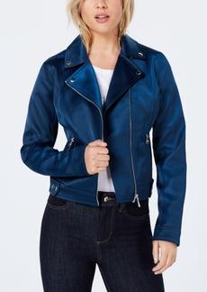 Guess Aja Sateen Moto Jacket