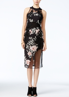 Guess Alaura Mixed-Media Dress