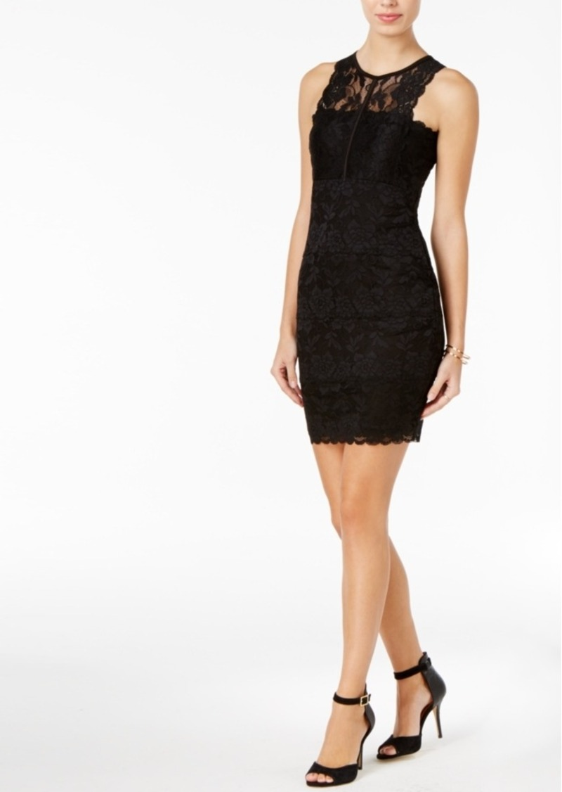 5f01437108a GUESS Guess Ali Lace Bodycon Dress