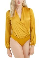 Guess Allie Surplice-Neck Bodysuit
