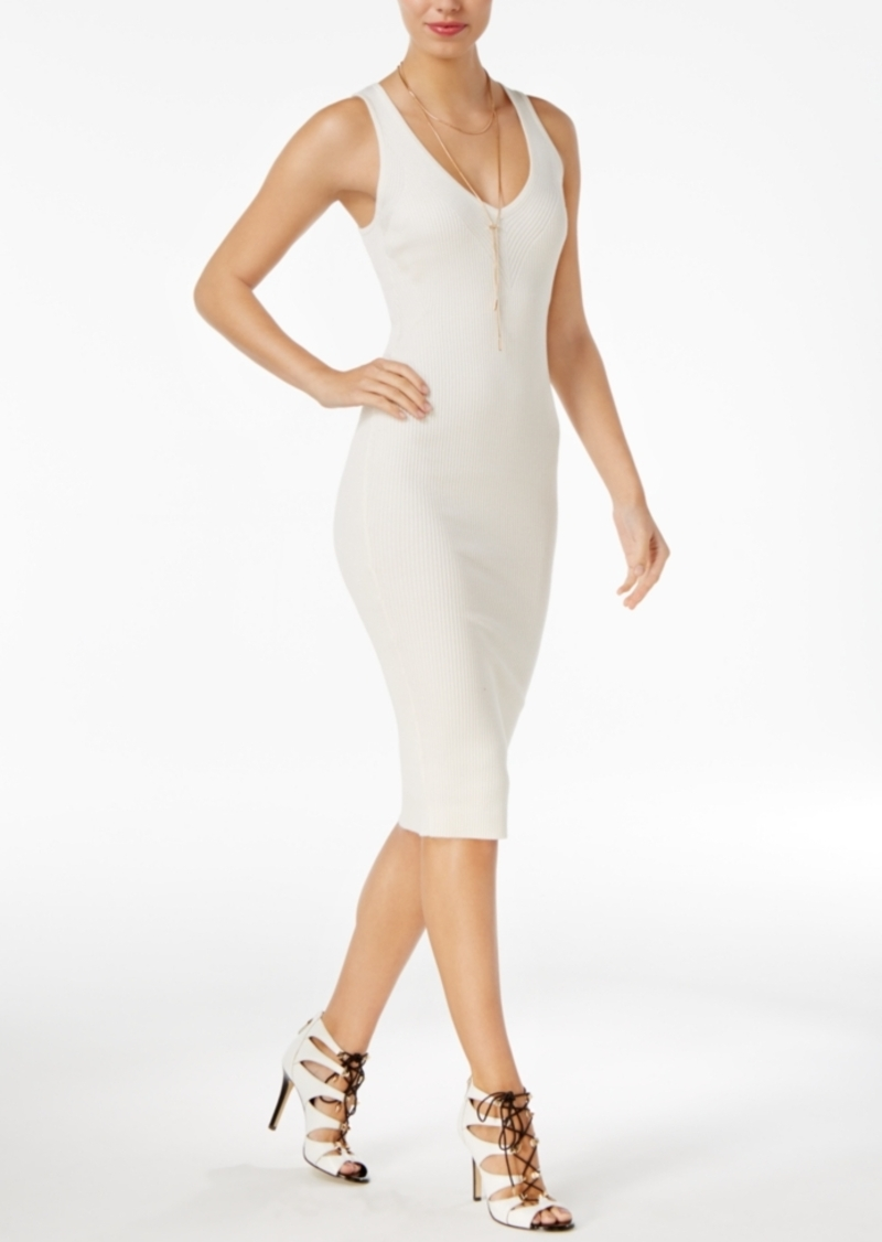 12a426489e3 GUESS Guess Allison Ribbed Bodycon Dress