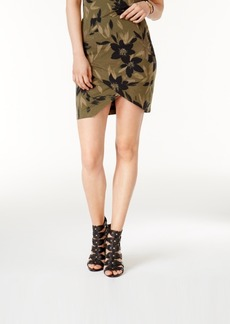 Guess Amore Printed Tulip-Front Skirt, a Macy's Exclusive Style