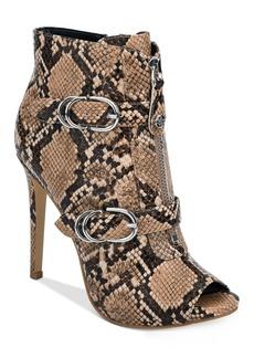 Guess Arden Peep-Toe Dress Booties Women's Shoes