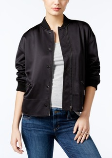 Guess Astor Ruched Bomber Jacket