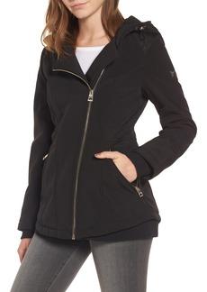 GUESS Asymmetrical Soft Shell Coat